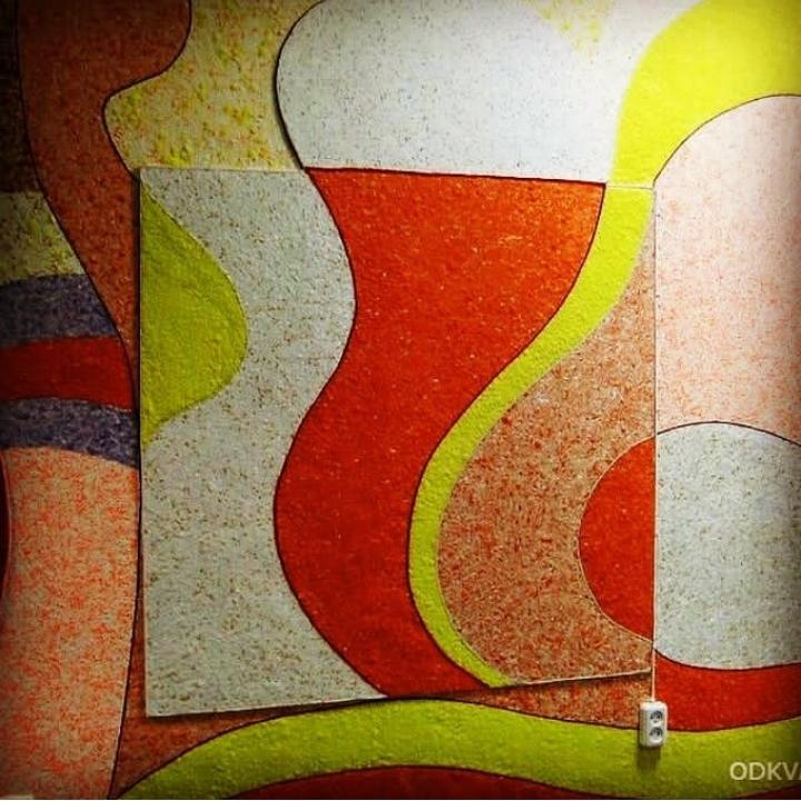 تزئین زیبای دیوارهای منزل با رنگ و نقاشی بلکا